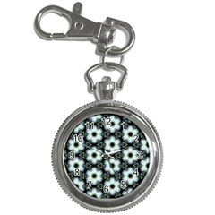 Faux Animal Print Pattern Key Chain Watch by creativemom