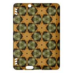 Faux Animal Print Pattern Kindle Fire Hdx Hardshell Case by creativemom