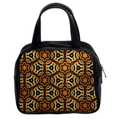 Faux Animal Print Pattern Classic Handbag (two Sides) by creativemom