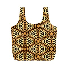 Faux Animal Print Pattern Reusable Bag (m) by creativemom