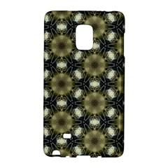 Faux Animal Print Pattern Samsung Galaxy Note Edge Hardshell Case by creativemom