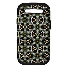Faux Animal Print Pattern Samsung Galaxy S Iii Hardshell Case (pc+silicone) by creativemom