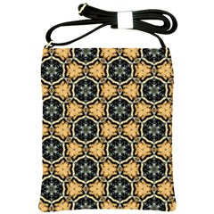 Faux Animal Print Pattern Shoulder Sling Bag by creativemom