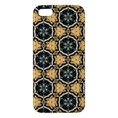 Faux Animal Print Pattern Iphone 5s Premium Hardshell Case by creativemom