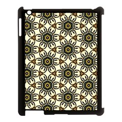 Faux Animal Print Pattern Apple Ipad 3/4 Case (black) by creativemom