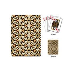 Faux Animal Print Pattern Playing Cards (mini) by creativemom