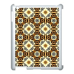 Faux Animal Print Pattern Apple Ipad 3/4 Case (white) by creativemom
