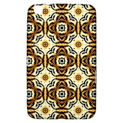 Faux Animal Print Pattern Samsung Galaxy Tab 3 (8 ) T3100 Hardshell Case  by creativemom