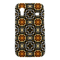 Faux Animal Print Pattern Samsung Galaxy Ace S5830 Hardshell Case  by creativemom