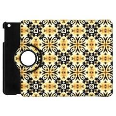 Faux Animal Print Pattern Apple Ipad Mini Flip 360 Case by creativemom