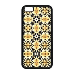 Faux Animal Print Pattern Apple Iphone 5c Seamless Case (black) by creativemom