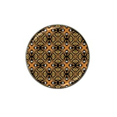 Faux Animal Print Pattern Golf Ball Marker (for Hat Clip) by creativemom