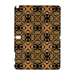 Faux Animal Print Pattern Samsung Galaxy Note 10 1 (p600) Hardshell Case