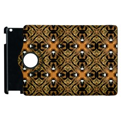 Faux Animal Print Pattern Apple Ipad 3/4 Flip 360 Case by creativemom
