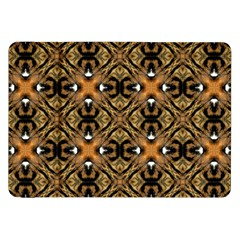 Faux Animal Print Pattern Samsung Galaxy Tab 8 9  P7300 Flip Case by creativemom