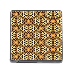 Faux Animal Print Pattern Memory Card Reader With Storage (square) by creativemom