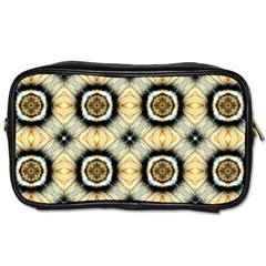 Faux Animal Print Pattern Travel Toiletry Bag (two Sides) by creativemom