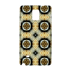 Faux Animal Print Pattern Samsung Galaxy Note 4 Hardshell Case by creativemom