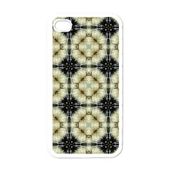 Faux Animal Print Pattern Apple Iphone 4 Case (white) by creativemom