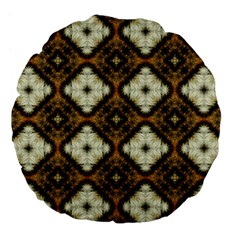 Faux Animal Print Pattern 18  Premium Flano Round Cushion  by creativemom