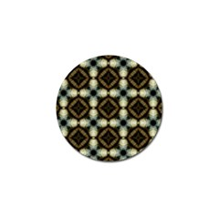 Faux Animal Print Pattern Golf Ball Marker 4 Pack by creativemom