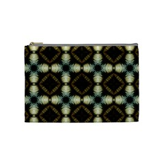 Faux Animal Print Pattern Cosmetic Bag (medium) by creativemom