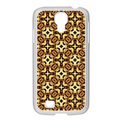 Faux Animal Print Pattern Samsung Galaxy S4 I9500/ I9505 Case (white) by creativemom