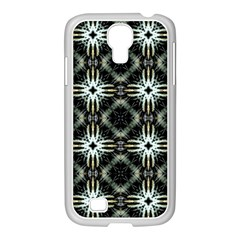 Faux Animal Print Pattern Samsung Galaxy S4 I9500/ I9505 Case (white) by creativemom