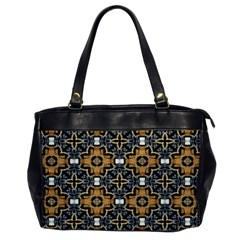 Faux Animal Print Pattern Oversize Office Handbag (one Side) by creativemom
