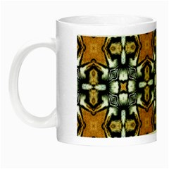 Faux Animal Print Pattern Glow In The Dark Mug by creativemom