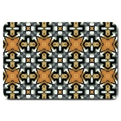 Faux Animal Print Pattern Large Door Mat by creativemom