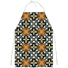 Faux Animal Print Pattern Apron by creativemom