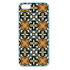 Faux Animal Print Pattern Apple Seamless Iphone 5 Case (color) by creativemom