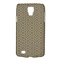 Cute Pretty Elegant Pattern Samsung Galaxy S4 Active (i9295) Hardshell Case by creativemom