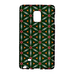 Cute Pretty Elegant Pattern Samsung Galaxy Note Edge Hardshell Case by creativemom