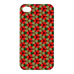 Cute Pretty Elegant Pattern Apple Iphone 4/4s Hardshell Case by creativemom