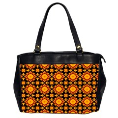 Cute Pretty Elegant Pattern Oversize Office Handbag (two Sides) by creativemom