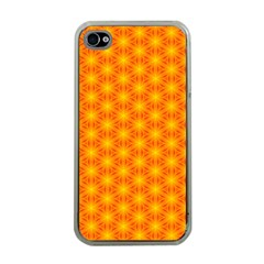 Cute Pretty Elegant Pattern Apple Iphone 4 Case (clear) by creativemom