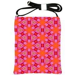 Cute Pretty Elegant Pattern Shoulder Sling Bag by creativemom