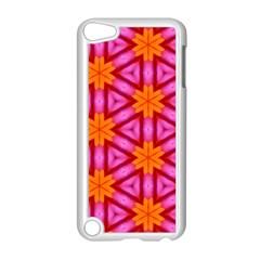 Cute Pretty Elegant Pattern Apple Ipod Touch 5 Case (white) by creativemom