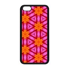 Cute Pretty Elegant Pattern Apple Iphone 5c Seamless Case (black) by creativemom