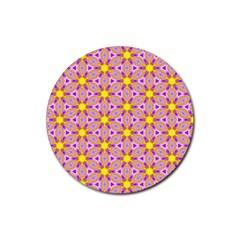 Cute Pretty Elegant Pattern Drink Coaster (round) by creativemom