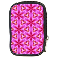 Cute Pretty Elegant Pattern Compact Camera Leather Case by creativemom