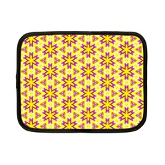 Cute Pretty Elegant Pattern Netbook Sleeve (small) by creativemom
