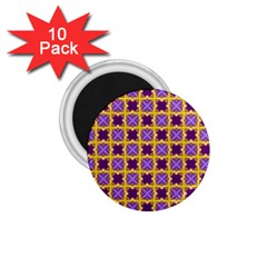Cute Pretty Elegant Pattern 1.75  Button Magnet (10 pack) by creativemom