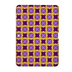 Cute Pretty Elegant Pattern Samsung Galaxy Tab 2 (10 1 ) P5100 Hardshell Case  by creativemom