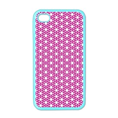Cute Pretty Elegant Pattern Apple Iphone 4 Case (color) by creativemom