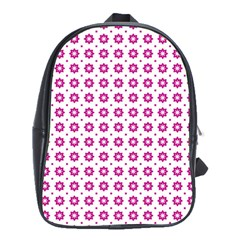 Cute Pretty Elegant Pattern School Bag (large) by creativemom