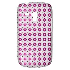 Cute Pretty Elegant Pattern Samsung Galaxy S3 Mini I8190 Hardshell Case by creativemom