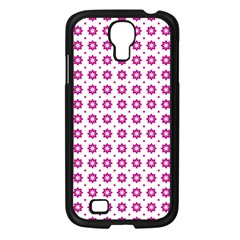 Cute Pretty Elegant Pattern Samsung Galaxy S4 I9500/ I9505 Case (black) by creativemom